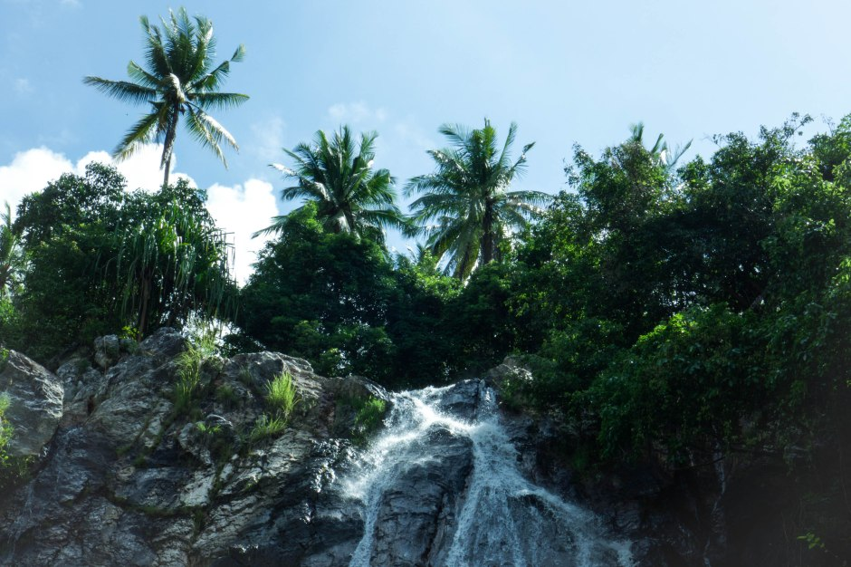koh samui waterfall