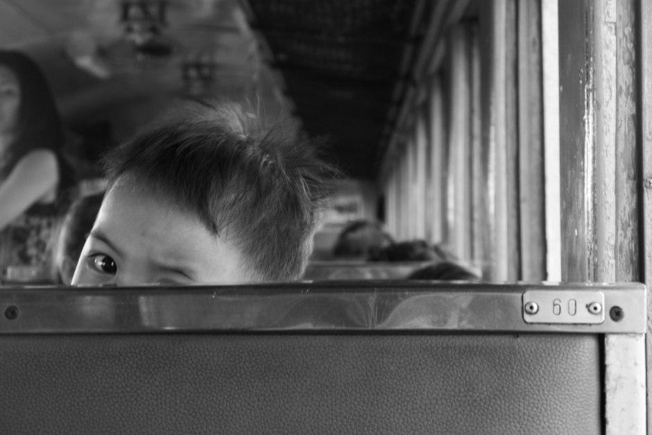 boy at seat 60