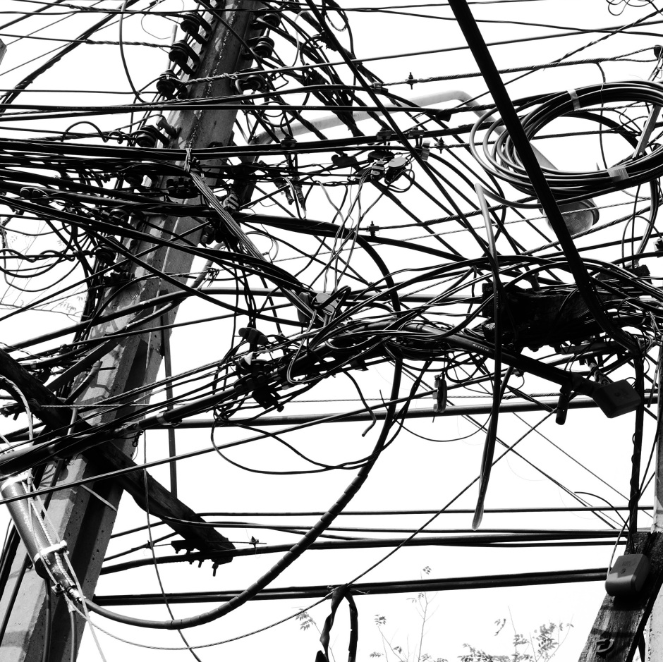 wires in bangkok